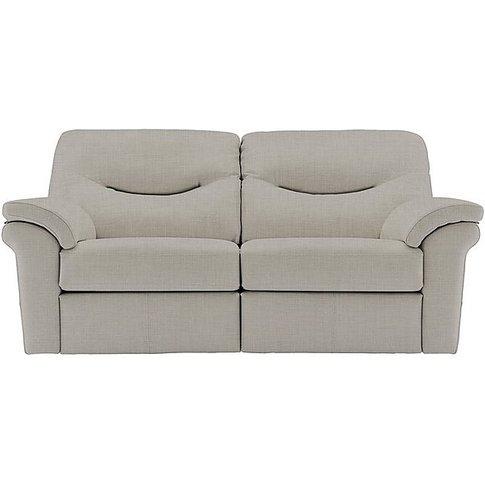 Washington 3 Seater Fabric Manual Recliner Sofa
