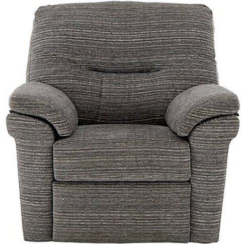 Washington Fabric Manual Recliner Armchair