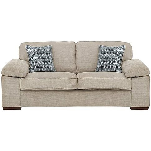 Home 2 Seater Fabric Sofa - Beige - By Furniture Vil...