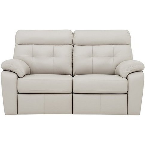 G Plan - Miller 2 Seater Leather Sofa - Grey