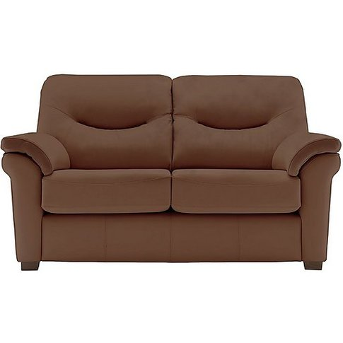 G Plan - Washington 2 Seater Leather Sofa With Feet ...