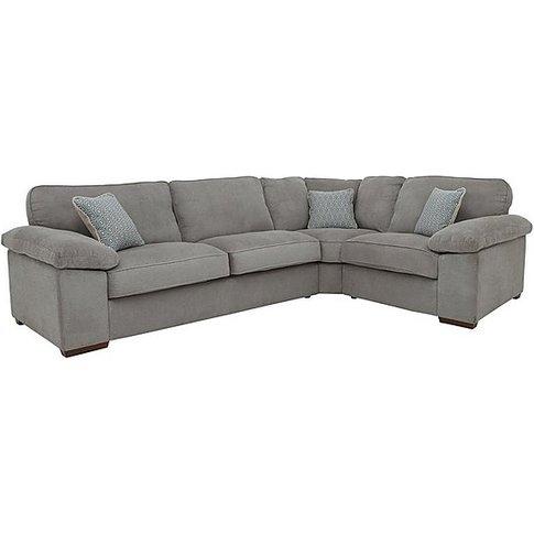 Home Small Corner Sofa - Mink - By Furniture Village
