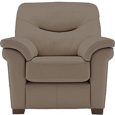 Washington Leather Armchair With Feet