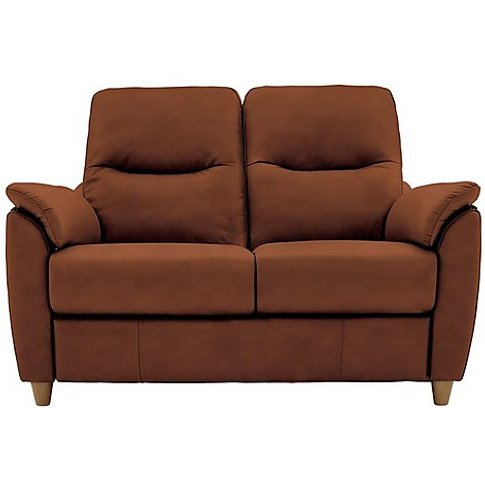 G Plan - Spencer 2 Seater Leather Sofa - Brown