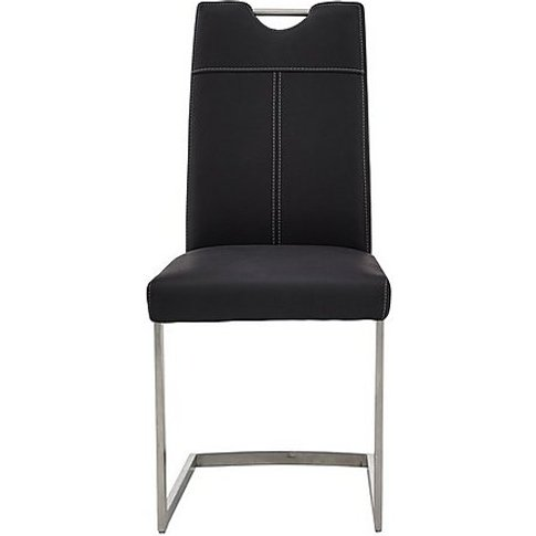 Panama Upholstered Dining Chair - Black