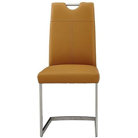 Panama Upholstered Dining Chair - Yellow