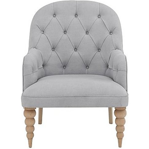 Evie Accent Chair - Grey