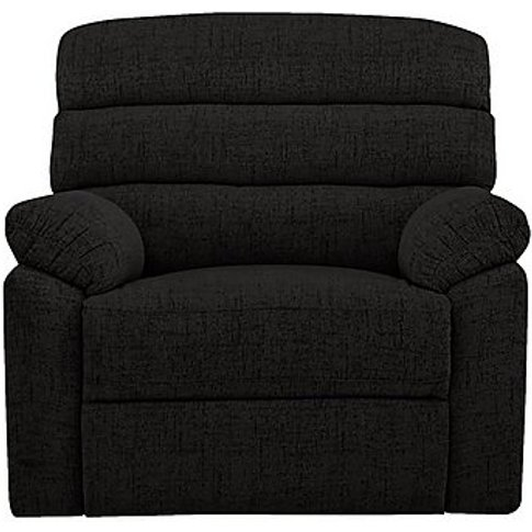 Comfort Story - Page Fabric Manual Recliner Armchair...