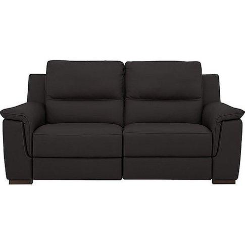 Nicoletti - Alto 2 Seater Leather Sofa - Grey