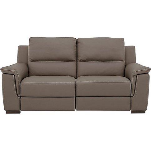 Nicoletti - Alto 2 Seater Leather Sofa - Brown