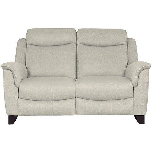 Parker Knoll - Manhattan 2 Seater Fabric Sofa - Grey
