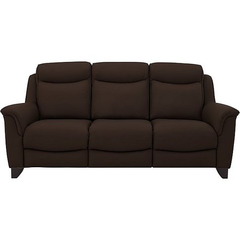 Parker Knoll - Manhattan 3 Seater Leather Sofa - Brown
