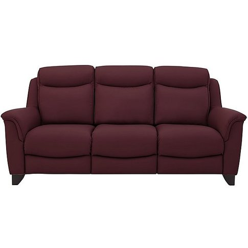 Parker Knoll - Manhattan 3 Seater Leather Power Recl...