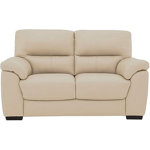 World Of Leather - Zinc 2 Seater Leather Sofa - Beige