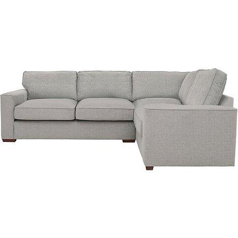 Seasons Compact Classic Back Fabric Rhf Corner Sofa ...