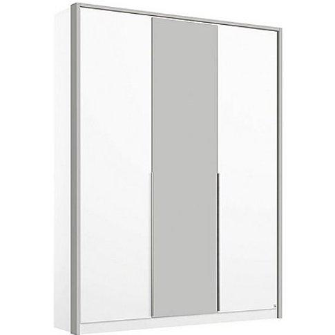 Rauch - Indiana 3 Door Hinged Wardrobe - White
