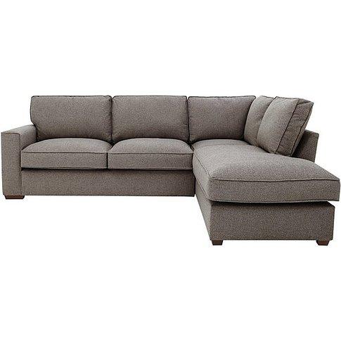 Comfi Fabric Corner Sofa With Chaise End