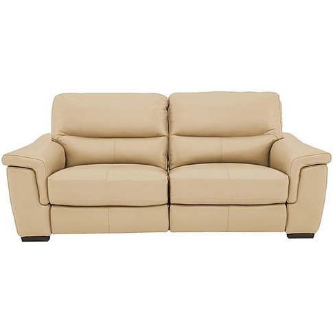 World Of Leather - Aneto 2 Seater Leather Sofa - Beige