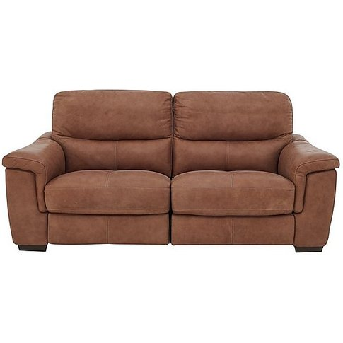 World Of Leather - Aneto 2 Seater Leather Power Recl...