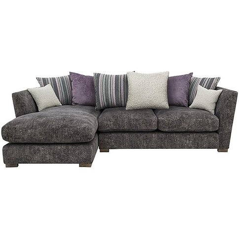 Nautical Small 3 Seater Scatter Back Chaise Sofa