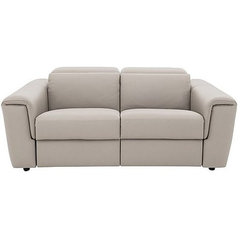 Nicoletti - Figaro 2 Seater Leather Recliner Sofa - ...