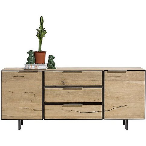Habufa - Sox 2 Door 3 Drawer Sideboard - 180-Cm - Brown