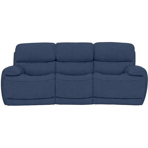 Relax Station Rocco 3 Seater Fabric Power Rocker Sof...