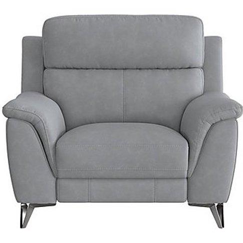 Contempo Fabric Power Recliner Armchair