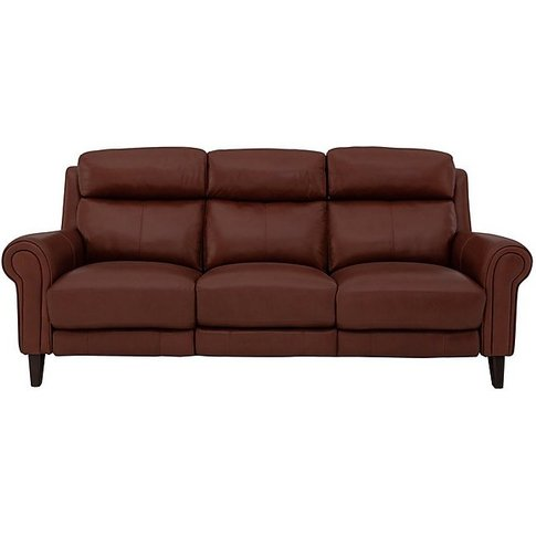World Of Leather - Relax Station Easy 3 Seater Leath...