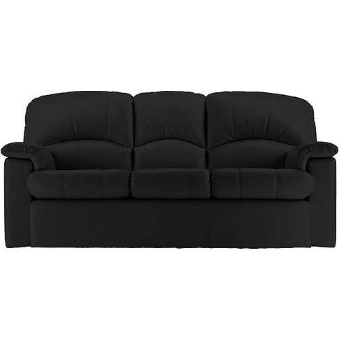 G Plan - Chloe 3 Seater Leather Sofa