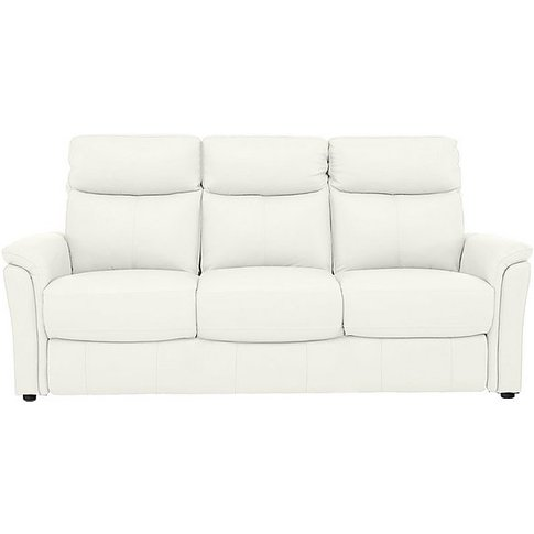Compact Collection Piccolo 3 Seater Leather Static S...