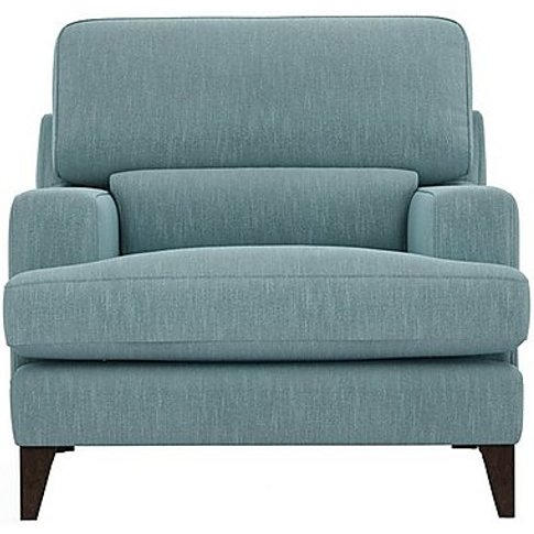 The Lounge Co. - Romilly Fabric Armchair - Blue