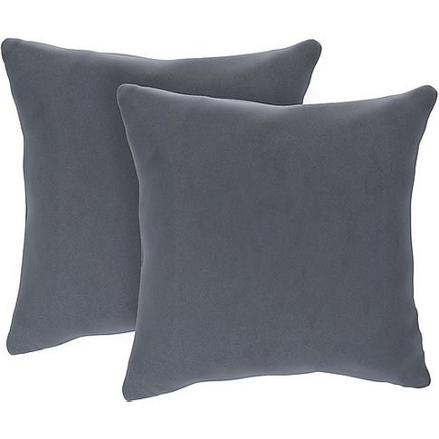 The Lounge Co. - Romilly Pair Of Large Fabric Cushio...