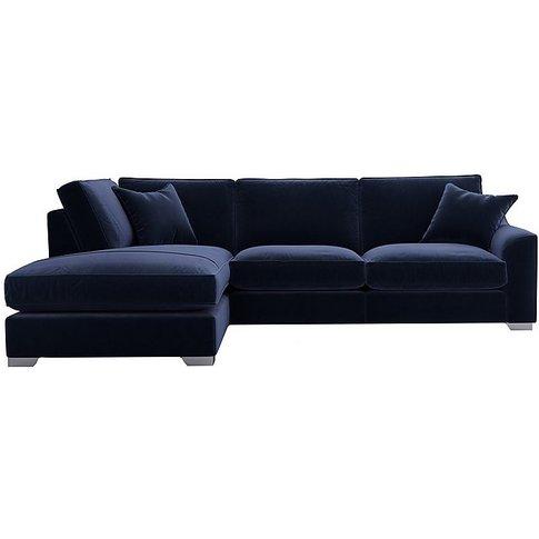 The Lounge Co. - Isobel Fabric Corner Sofa With Chai...