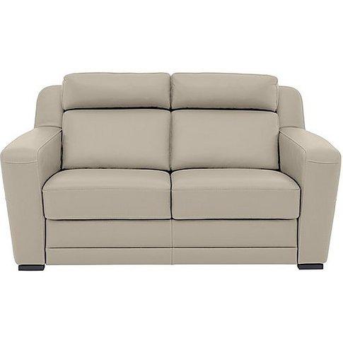 Nicoletti - Matera 2.5 Seater Leather Static Sofa Wi...