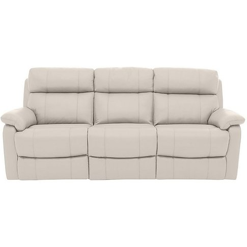 Relax Station Komodo 3 Seater Leather Recliner Sofa ...