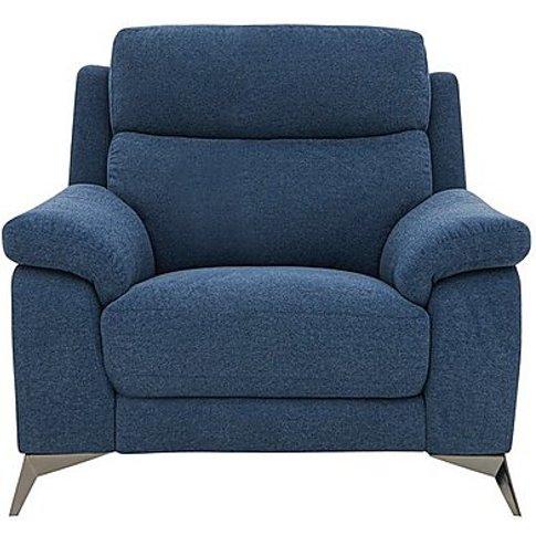 Missouri Fabric Armchair - Blue