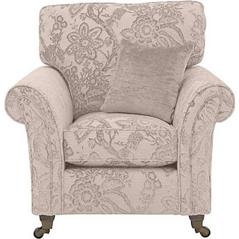 Ayda Fabric Armchair - Pattern