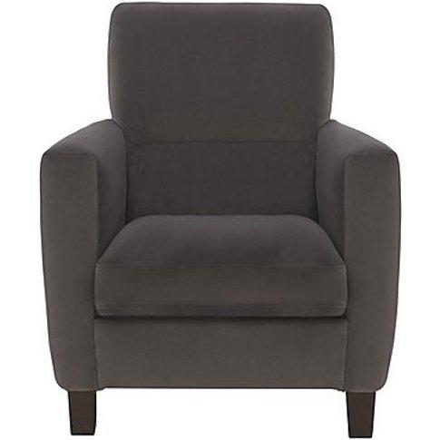 Versano Fabric Manual Recliner Armchair - Grey