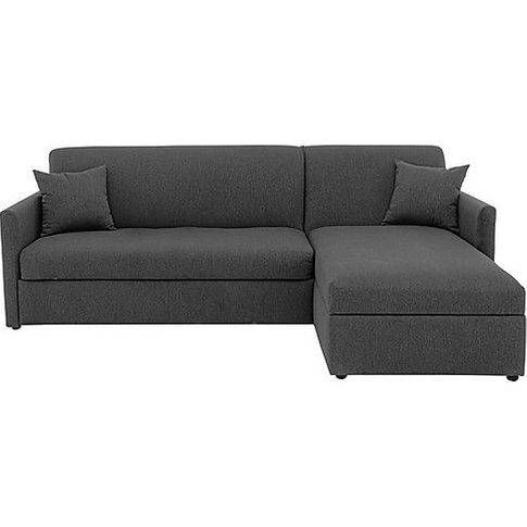 Versatile Small 2 Seater Fabric Chaise Sofa Bed With...