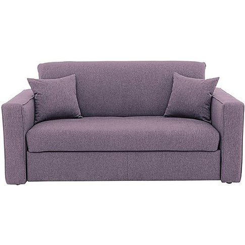 Versatile Small 2 Seater Fabric Sofa Bed With Box Ar...