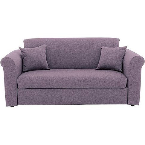 Versatile Small 2 Seater Fabric Sofa Bed With Scroll...
