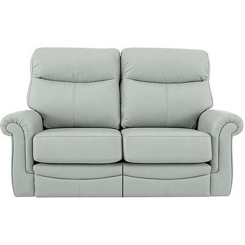 G Plan - Avon 2 Seater Leather Recliner Sofa