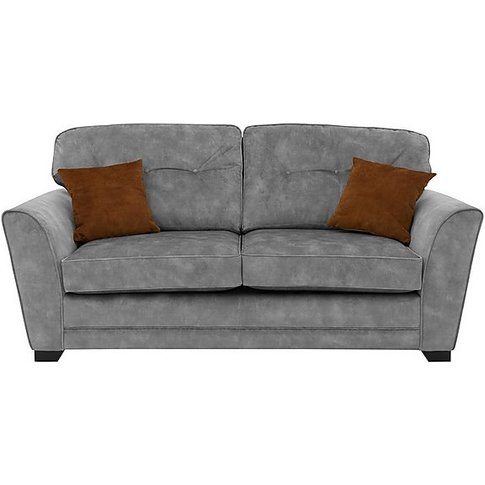Nelly 3 Seater Fabric Sofabed - Grey