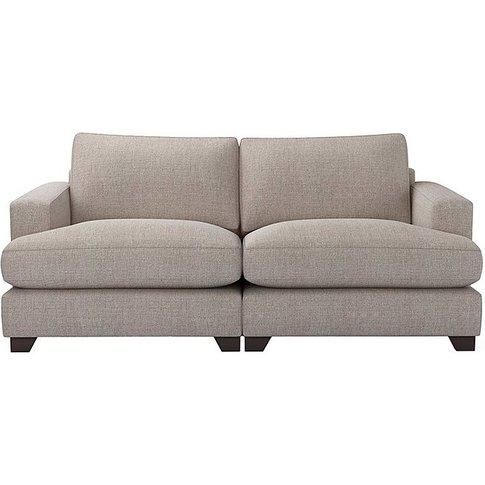 The Lounge Co. - Lorrie 3 Seater Fabric Sofa - Grey