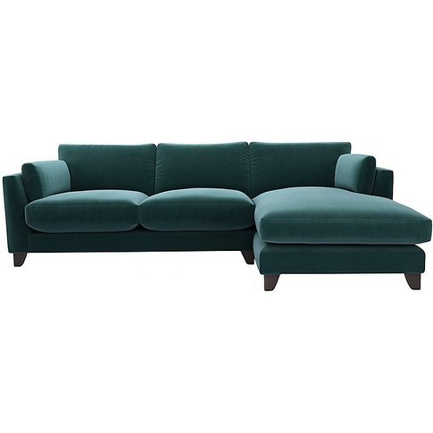 The Lounge Co. - Peyton 3 Seater Fabric Chaise End Sofa