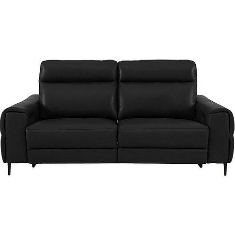 Anakin 3 Seater Leather Sofa