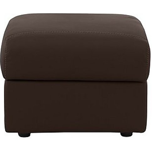 Nicoletti - Pepino Leather Storage Footstool