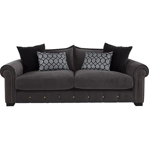 Alexander And James - Sumptuous 4 Seater Fabric Sofa