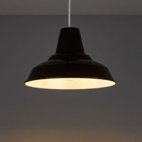 Tezz Gloss Black Light Shade (D)290mm